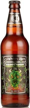 Oakham Green Devil IPA - India Pale Ale (IPA)