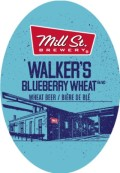 Mill Street Walker�s Blueberry Wheat - Fruit Beer
