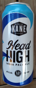 Kane Head High - India Pale Ale (IPA)