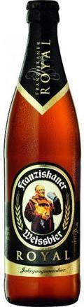 Franziskaner Weissbier Royal Edition 01 (2011) - German Hefeweizen