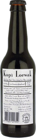 De Molen Kopi Loewak Coffee Stout &#40;2011-&#41; - Imperial Stout