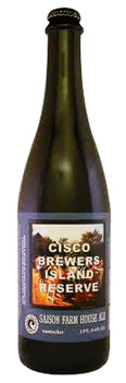 Cisco Island Reserve Saison Farm House Ale - Saison