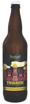 Beachwood Tovarish Imperial Espresso Stout - Imperial Stout