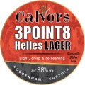 Calvors 3Point8 - Pale Lager