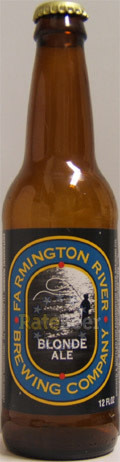 Farmington River Blonde Ale - Golden Ale/Blond Ale