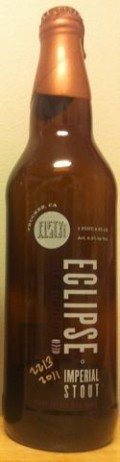 FiftyFifty Imperial Eclipse Stout - Brewmaster�s Grand Cru Blend 2011 - Imperial Stout