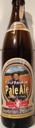 Apostelbr�u Hauzenberg First Bavarian Pale Ale - English Pale Ale