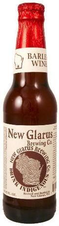 New Glarus Thumbprint Series Barley Wine - Barley Wine