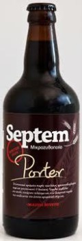 Septem Winterdays Seasonal Porter - Porter