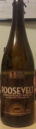Swamp Head / Cigar City Roosevelt American Barley Wine - Barley Wine
