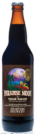 Six Rivers Paradise Moon Coffee Porter - Porter