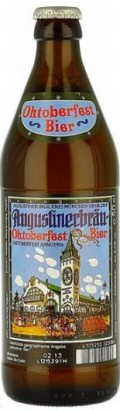 Augustiner Oktoberfest Bier - Oktoberfest/Mrzen