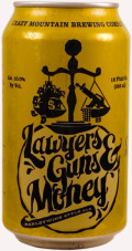 Crazy Mountain Lawyers, Guns and Money - Barley Wine