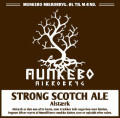Munkebo Mikrobryg Alst�rk Strong Scotch Ale - Scotch Ale