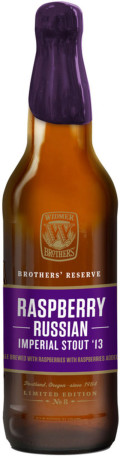 Widmer Brothers Reserve Raspberry Russian Imperial Stout - Imperial Stout