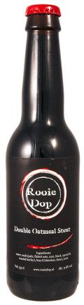Rooie Dop Double Oatmeal Stout - Imperial Stout