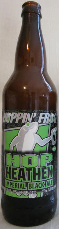Hoppin Frog Hop Heathen Imperial Black Ale - Black IPA
