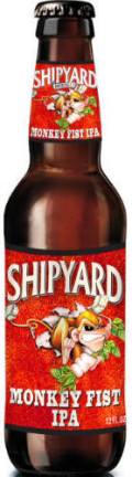 Shipyard Monkey Fist IPA - India Pale Ale (IPA)