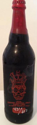Three Floyds Cognac Barrel Aged Dark Lord de Muerte - Imperial Stout