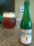Mikkeller Its Alive&#033; &#40;White Wine Barrel Lychee Edition&#41; - Sour Ale/Wild Ale