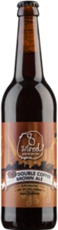 8 Wired C4 Double Coffee Brown Ale - Brown Ale