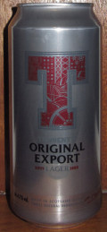 Tennent�s Original Export Lager - Pale Lager