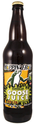 Hoppin Frog Hopped-Up Goose Juice Rye IPA - India Pale Ale (IPA)