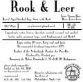 De Molen Rook & Leer (Smoke & Leather) - Imperial/Strong Porter