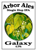 Arbor Single Hop IPA Galaxy - India Pale Ale &#40;IPA&#41;