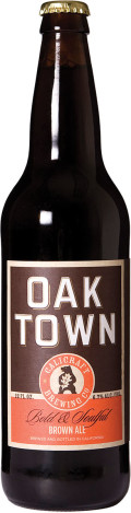 Calicraft Oaktown Brown Ale - Brown Ale