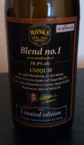 Monks Caf� Blend no.1 Uniqum - Imperial Stout