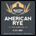 Buxton American Rye - American Pale Ale