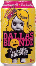 Deep Ellum Dallas Blonde - Golden Ale/Blond Ale