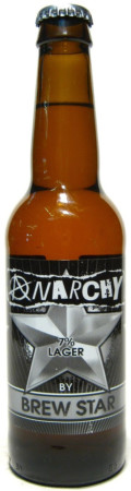 Anarchy Anarchy - Strong Pale Lager/Imperial Pils
