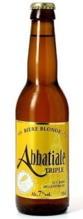 LAbbatiale Triple Blonde - Bi�re de Garde