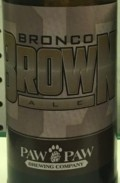 Paw Paw Bronco Brown - Brown Ale