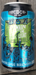 Cambridge Remain in Light - Premium Lager