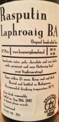 De Molen Rasputin Laphroaig Barrel Aged - Imperial Stout