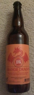 Alley Kat Dragon Series Orange Dragon Double IPA - Imperial/Double IPA