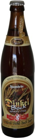 Apostelbru Dinkel Bock - Dunkler Bock