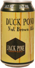 Jack Pine Duck Pond Nut Brown - Brown Ale