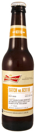 Budweiser Project Twelve - Batch 63118 (St Louis) - Pilsener