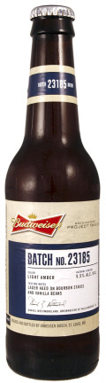 Budweiser Project Twelve - Batch 23185 (Williamsburg) - Premium Lager