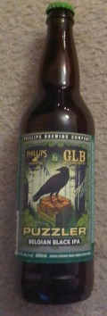 Phillips Puzzler Belgian Black IPA - Black IPA