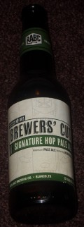 Real Ale Brewers Cut Signature Hop Pale Ale - American Pale Ale