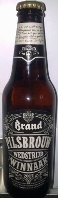 Brand Pilsbrouwwedstrijdwinnaar 2012 - Pilsener
