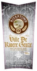 Rivertown Ville De Rivere Geuze - Lambic - Gueuze