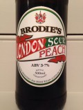 Brodies London Sour (Peach Edition) - Sour Ale/Wild Ale