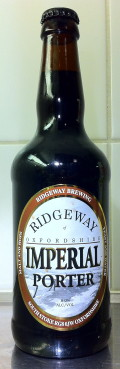 Ridgeway Imperial Porter - Imperial/Strong Porter