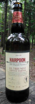 Harpoon 100 Barrel Series #44 - El Triunfo Coffee Porter - Porter